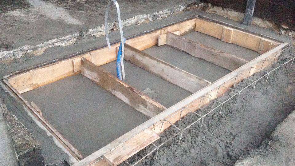 Budowa fundamentu PKN Orlen - Jedlicze